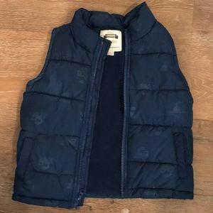 Blue vest size 2T-3T